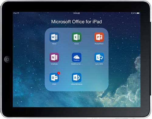 App van de maand: MS office voor iPad