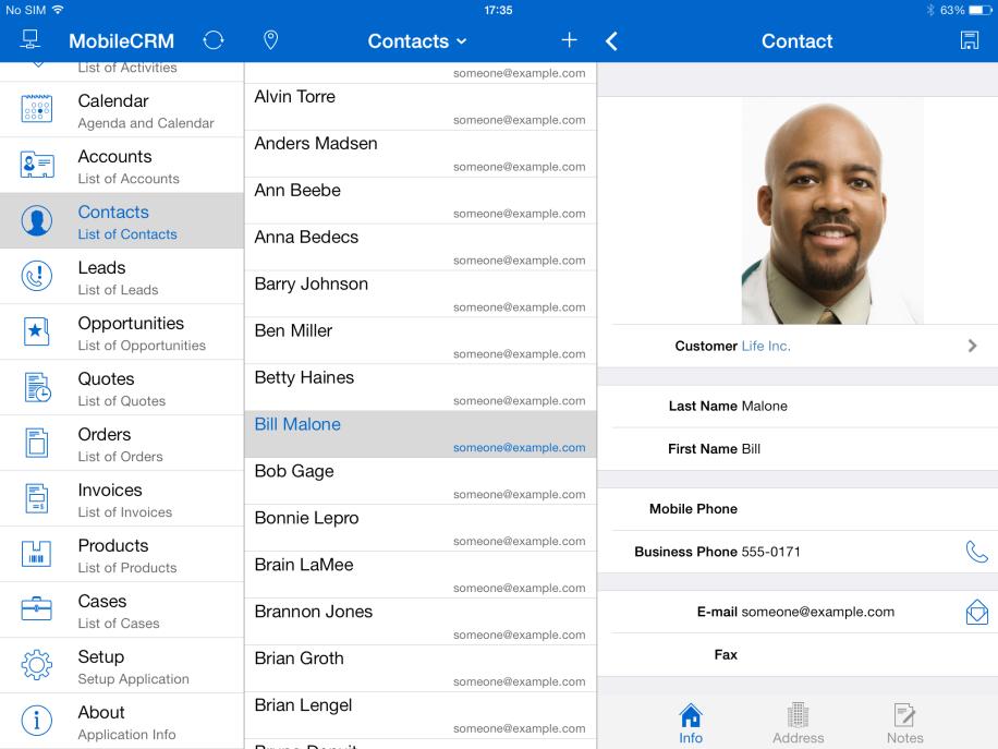 Vers van de pers: Avento Dynamics CRM Mobile jongste release