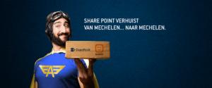 Share point verhuist van Mechelen naar ... Mechelen