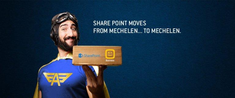 SharePoint moves from Mechelen to Mechelen
