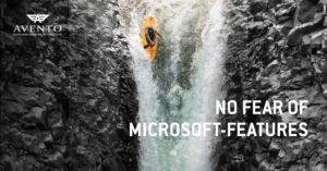 No fear of Microsoft featuers
