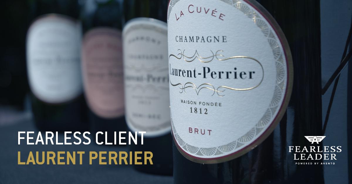 Champagne Laurent-Perrier rust vertegenwoordigers uit met Avento Fearless Leader